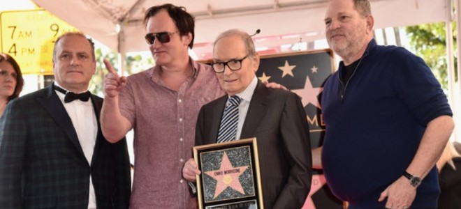 ENNIO MORRICONE RECEIVED HOLLYWOOD STAR ON WALK OF FAME BY HOLLYWOOD CHAMBER OF COMMERCE THANKS TO ALL OUR BELOVED USA FRIENDS AND PARTNERS