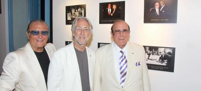 WELCOMING GLOBAL MUSIC ICONS - THE LEGENDARY PRODUCER CLIVE DAVIS, TONY RENIS AND NARAS PRESIDENT NEIL PORTNOW - TO THE INTERNATIONAL MUSIC SYMPOSIUM IN ITALY HELD IN COLLABORATION WITH THE GRAMMY'S FOUNDATION.